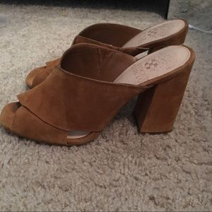 Vince Camuto suede mules